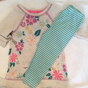 Baby Girls Dress and Leggings Play Set